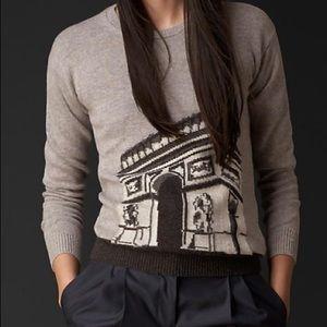 Burberry Women's Paris Landmark Cashmere Sweater S
